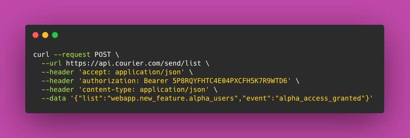 Sending Notification to Multiple Users via Segment